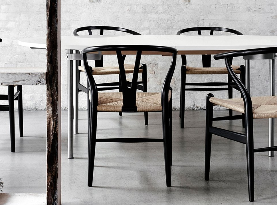 wegner wishbone chair zwart