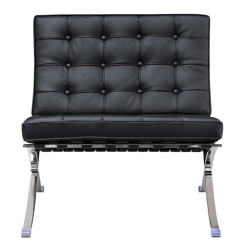 Barcelona Chair Luxe Volleer zwart