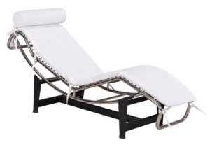 LC4 Daybed Wit Leer