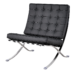 Paviljoen Chair XL Wit Leer