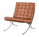 Paviljoen Chair XL Wit Leer