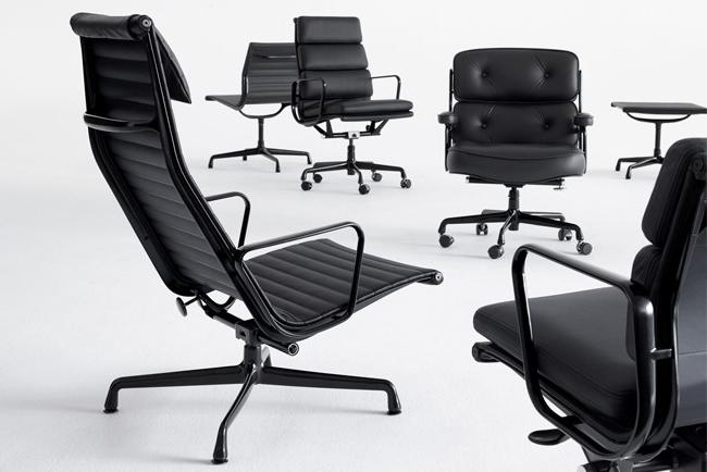 Full black uitvoeringen Eames van Cavel Design